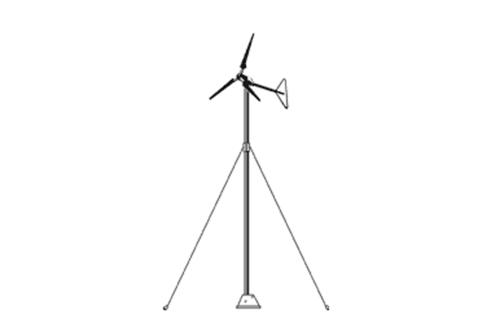 Aleko T10 Wind Turbine Pole (10 Feet)