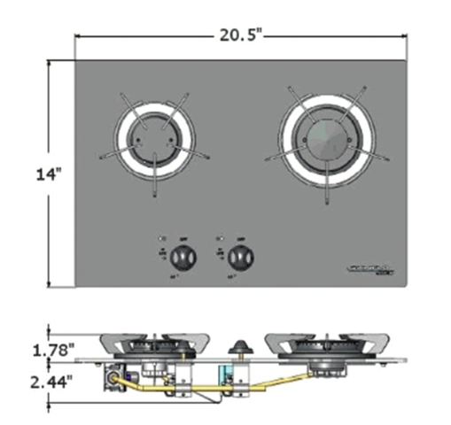 Norcold Top Line 920 Two Burner Propane Cooktop | Tiny House Cooktop | Tiny Life Supply 3.png