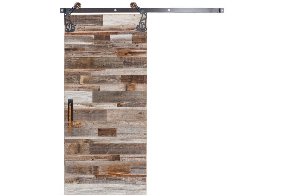 Rustica Hardware Interior Barn Wood Reclaimed Sliding Door