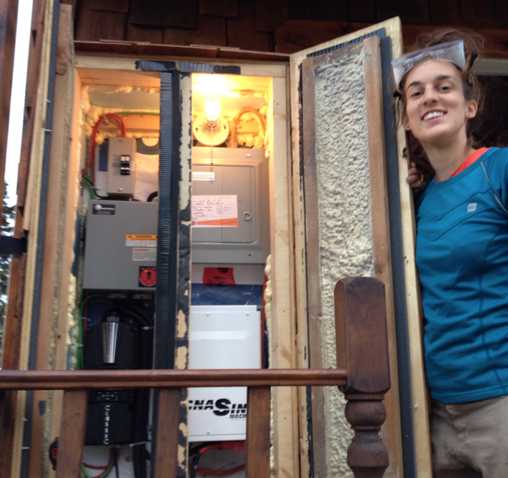 Leah's Insulated Solar System Cabinet