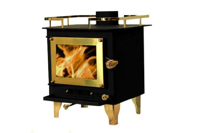 CUBIC GRIZZLY WOOD STOVE