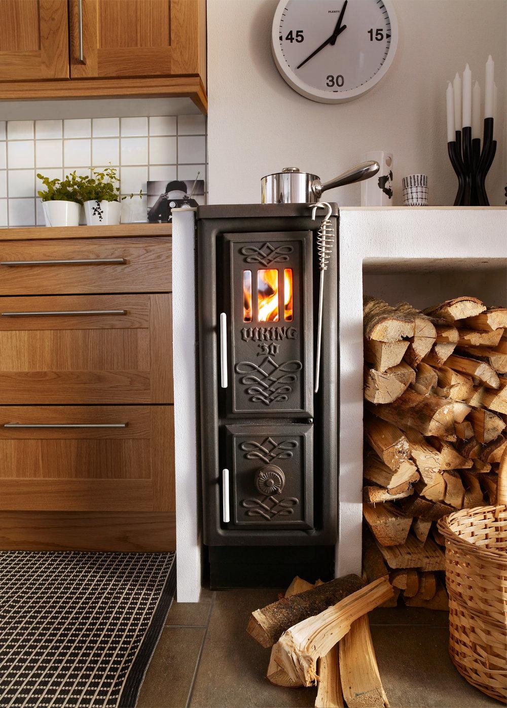 Josef Davidsons Viking 30 wood stove Front l Tiny Wood Stove l Tiny Life Supply.jpg