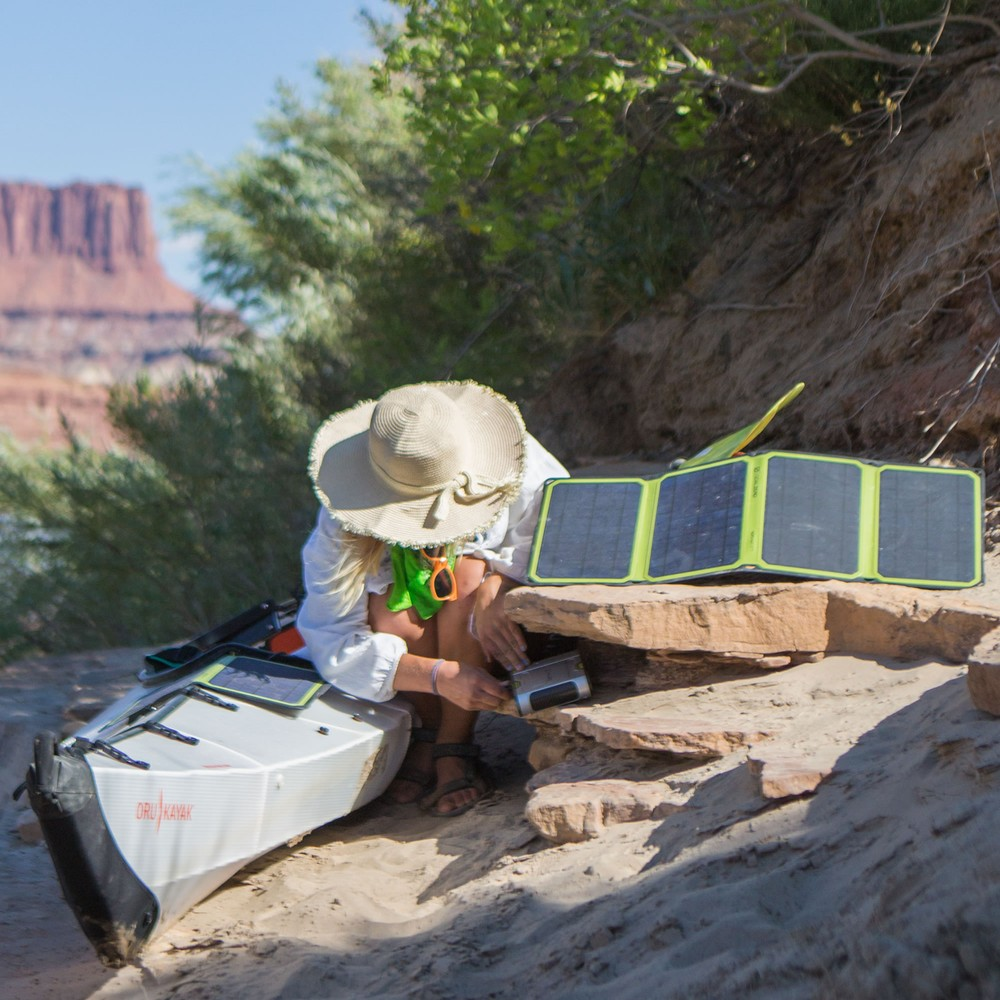 Goal Zero Sherpa 100 Power Bank + 28 Nomad Plus Solar Kit Gal 2 l Solar Kits l Tiny Life Supply.jpg