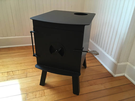 North Woods Woodsman Lifestyle 4 | Small Wood Stove | Tiny Life Supply.jpg