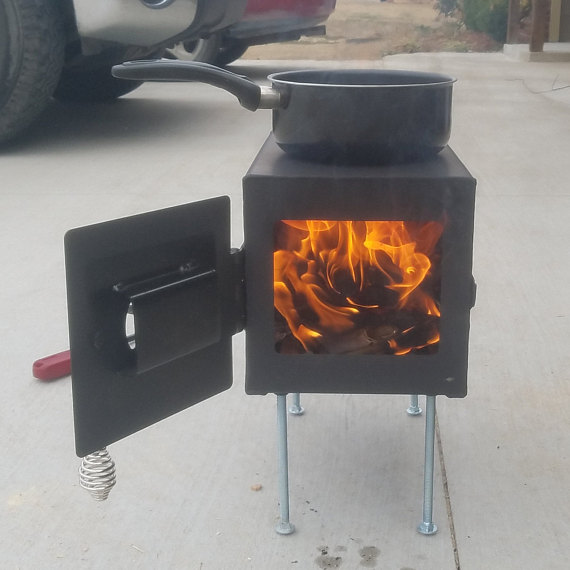 North Woods Basecamp Lifestyle 6 | Tiny Wood Stove | Tiny Life Supply.jpg