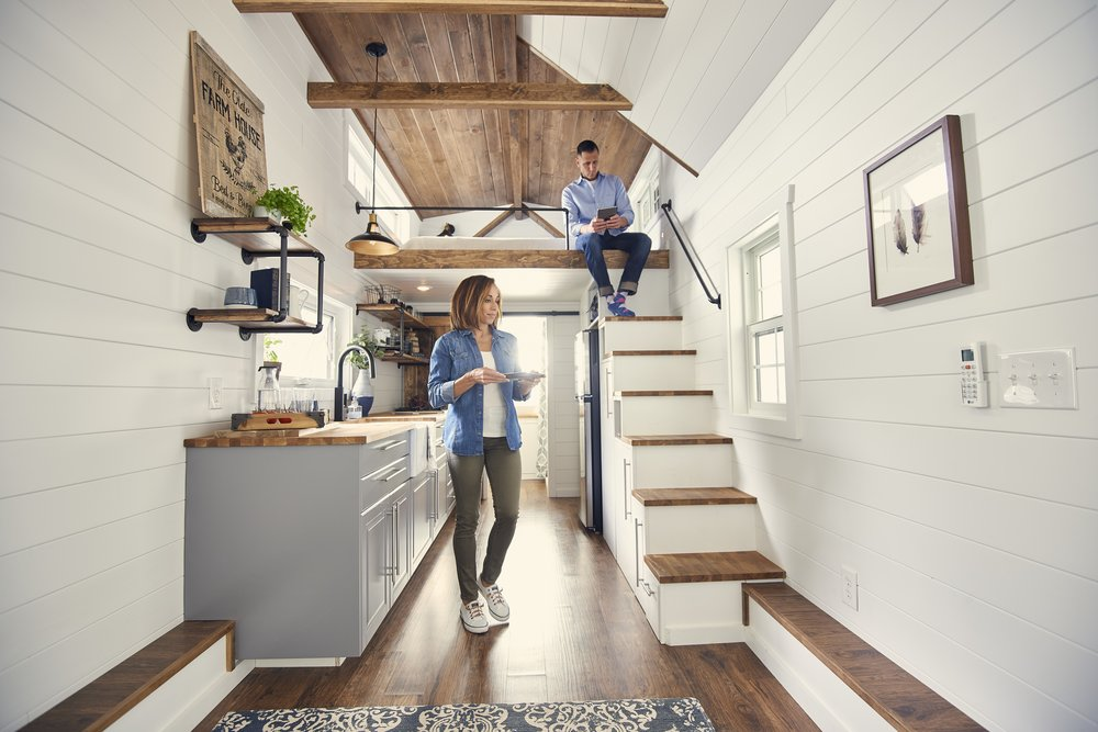 Liberation Tiny Homes Stair way to heaven l Building the Tiny Dream l Tiny Life Supply.jpg