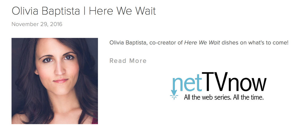 Interview with MHP's Olivia Baptista