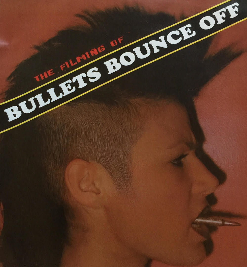 "Poster for ""Bullets Bounce Off"""