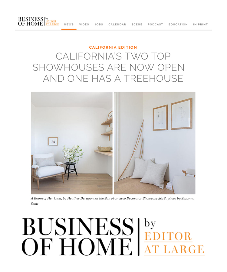 Business of Home By Editor At Large