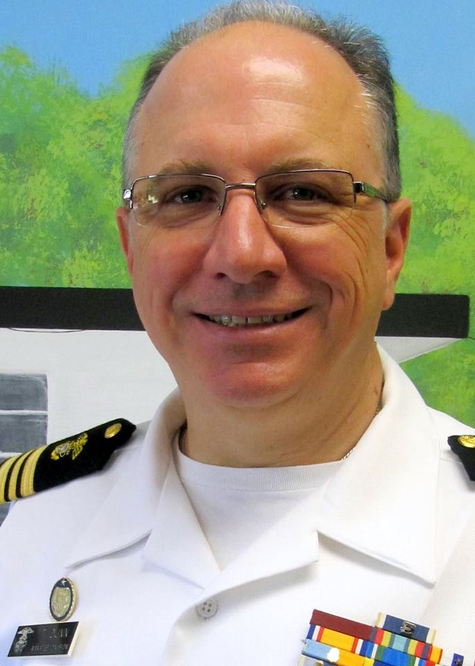 LCDR Todd Dunn, NSCC Senior Exchange Officer, IEP