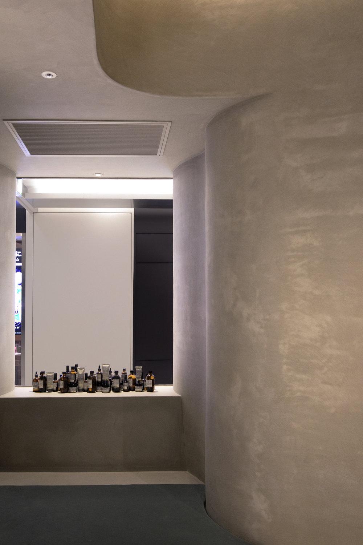 Aesop Ginza, designed by Torafu Architects