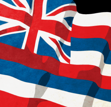Hawai`i State Flag