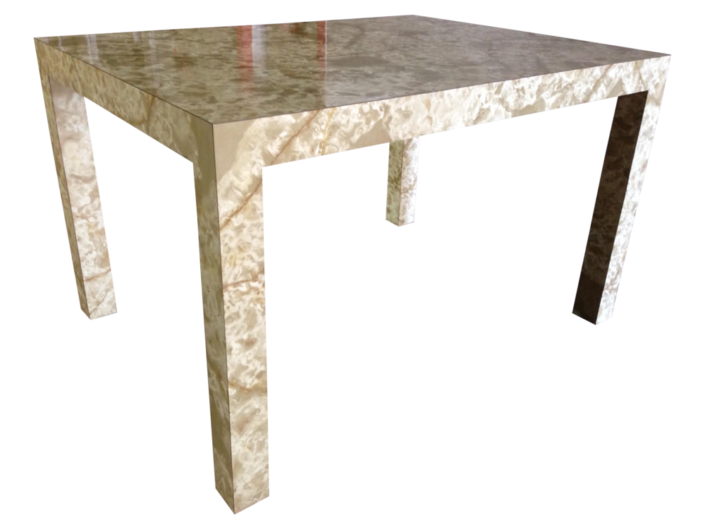 Faux Marble Formica Table