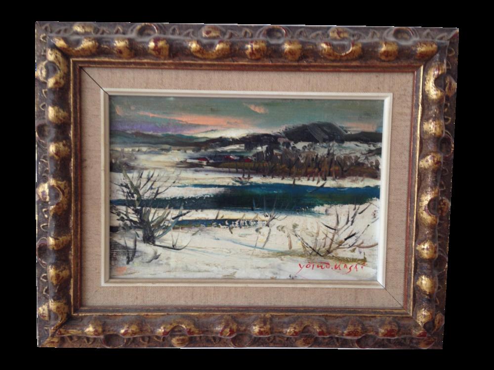 Yotsuo Kabutoya Oil Painting