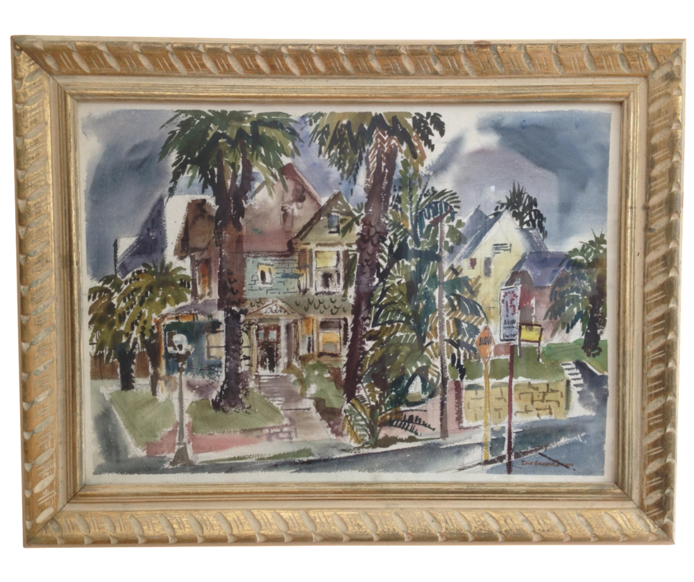 Lois Green Cohen Watercolor