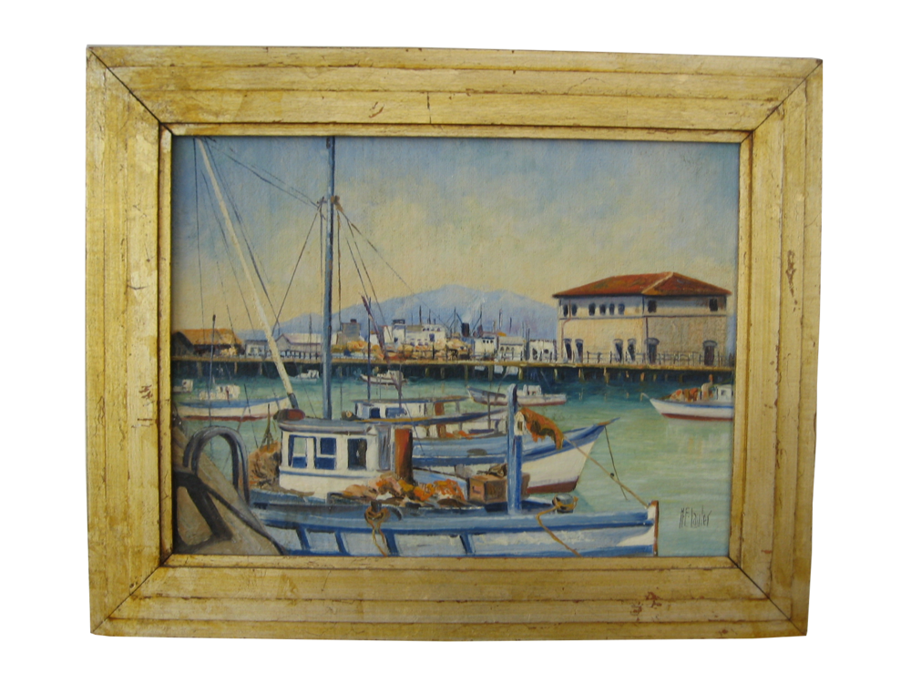 San Francisco Harbor Scene