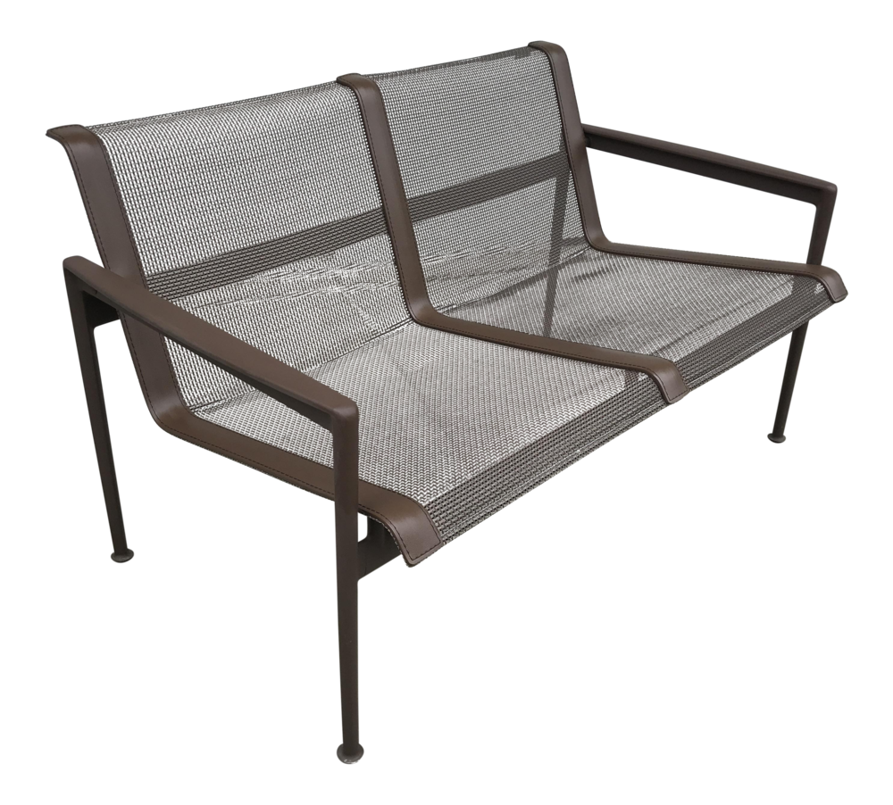 1966 Knoll Collection Twin Seat Lounge Chair
