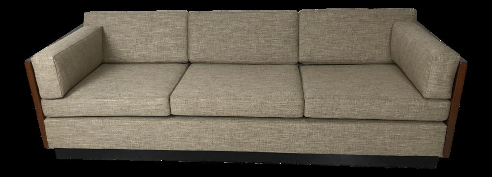 Milo Baughman Tuxedo Sofa