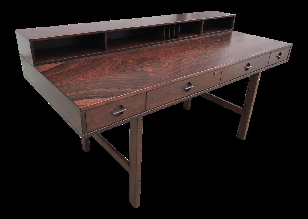 1960s Vintage Lovig Rosewood Desk