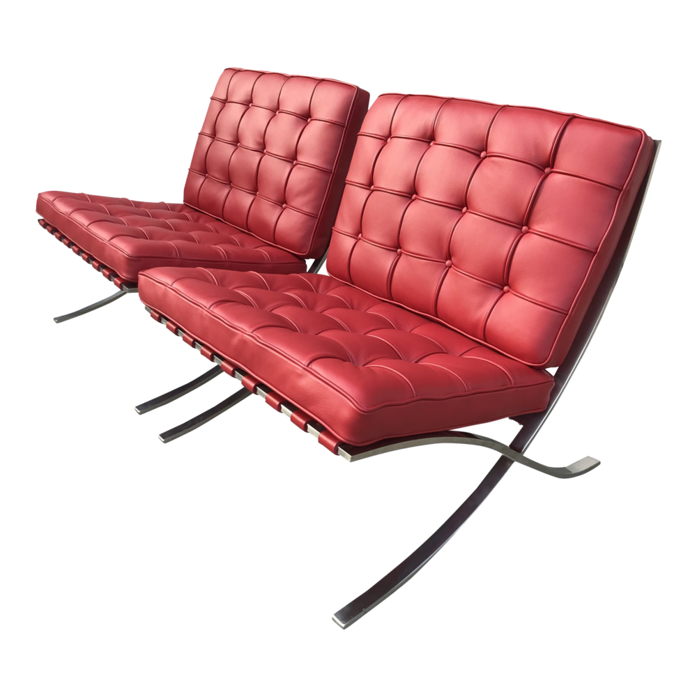 1960s Vintage Knoll Stainless SteelBarcelona Chair