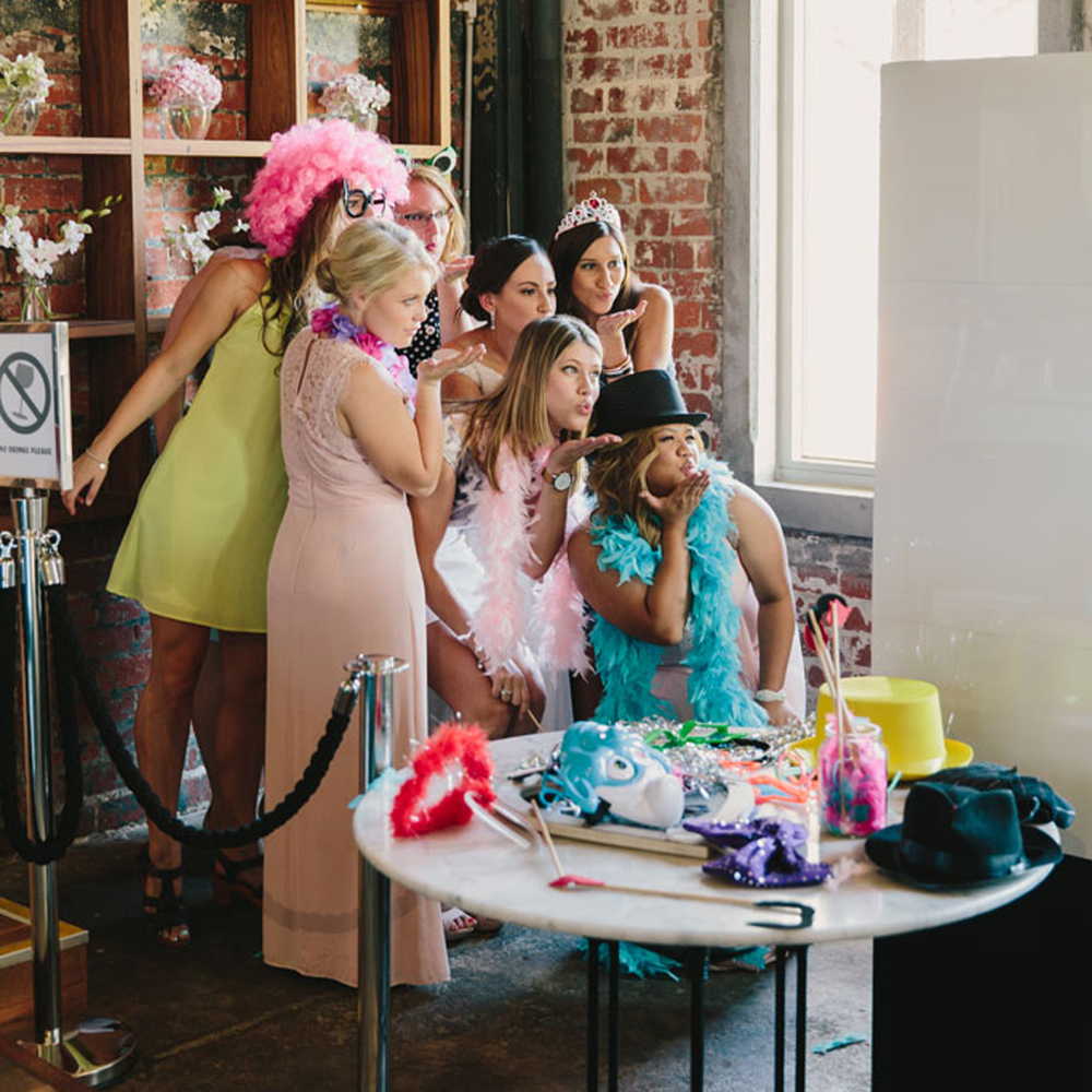 You can fit all your friends in our open air photo booth! Photo by Sherise Fleming