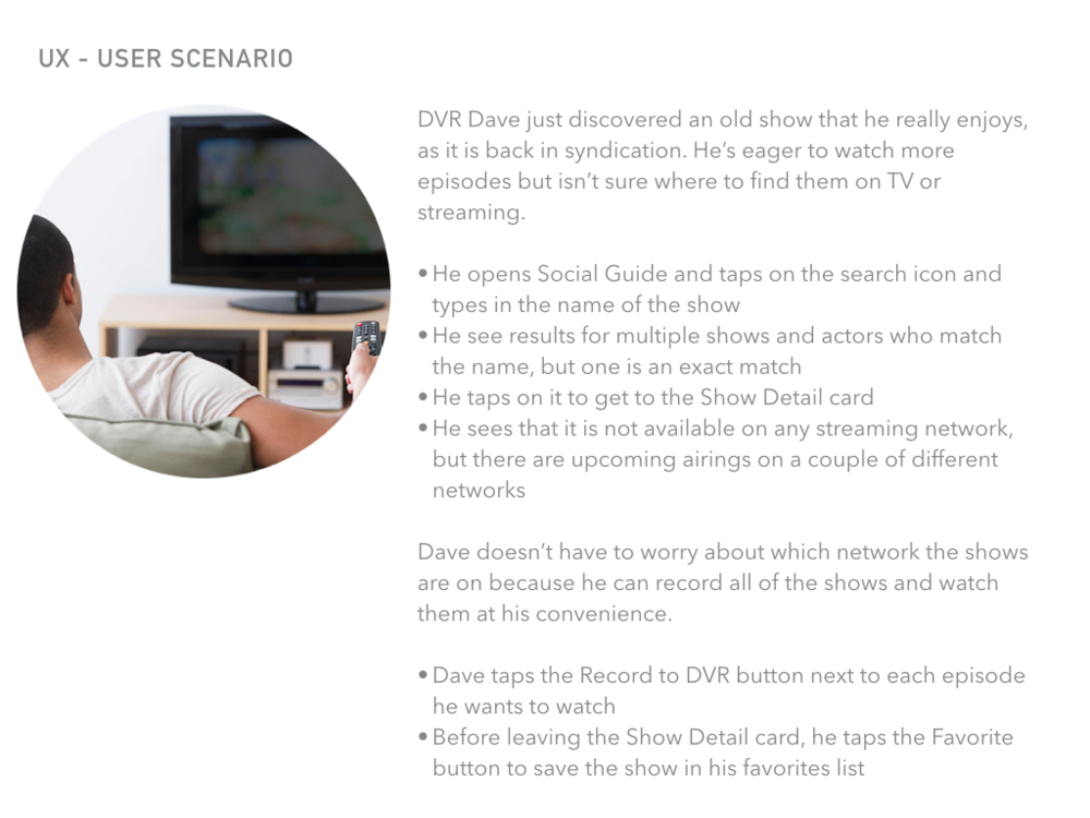 DVR Dave Scenario