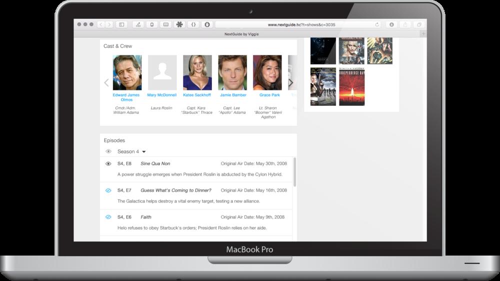 WebGuide Show Page (detail 2)
