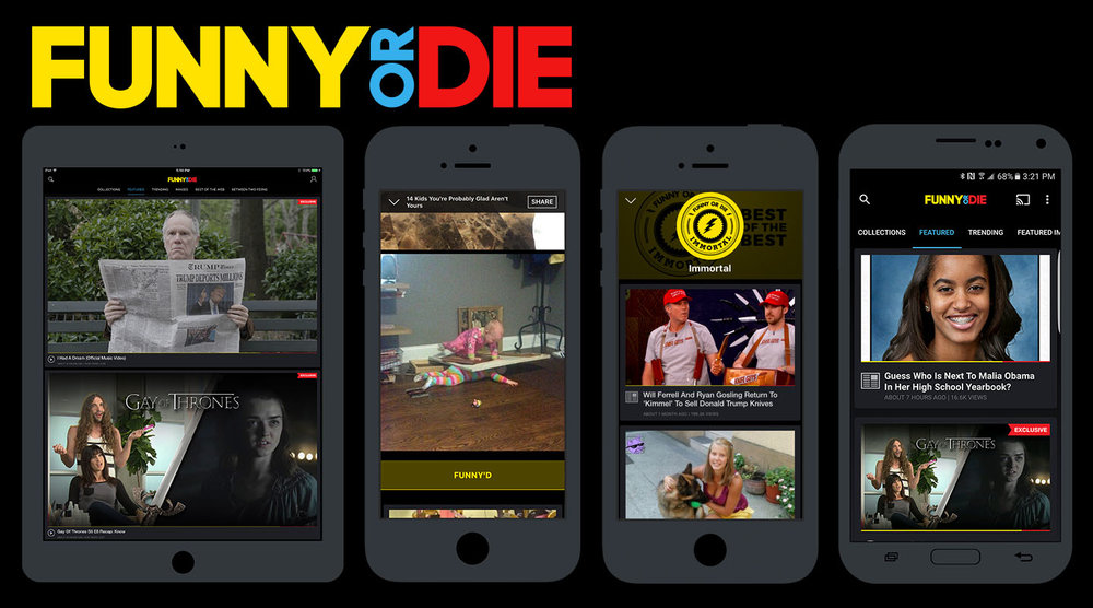 Funny Or Die Case Study