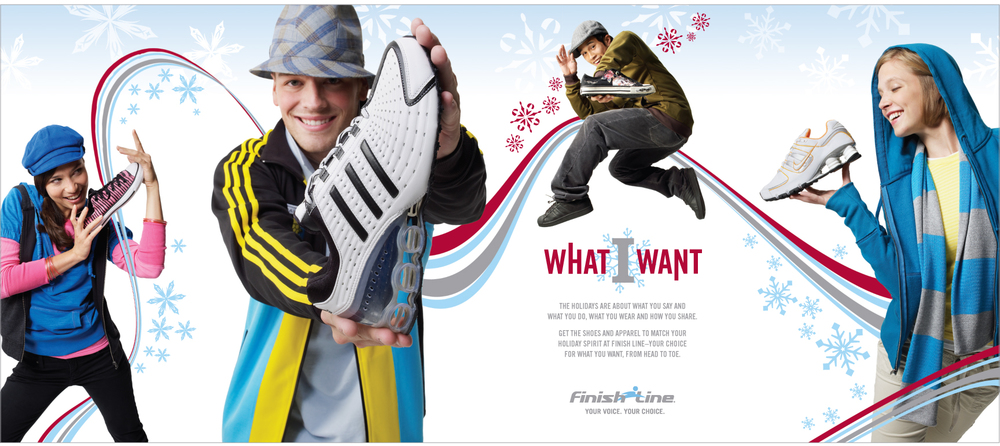 Brand: Finishline   Photo: Brian Kuhlmann