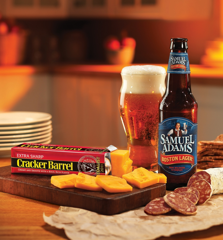 Brand: Cracker Barrel & Sam Adams    Photo: