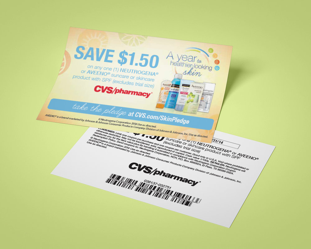 Coupon:  Served up inside prescription bags from the pharmacy.