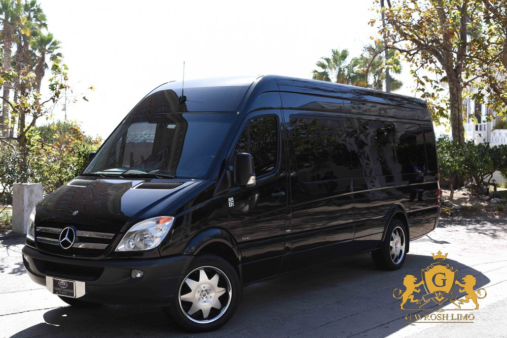 2016 Mercedes Sprinter Shuttle (11 Passengers) Click Picture for more information