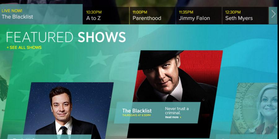 NBC Redesign - UX Design, Branding, Visual Design