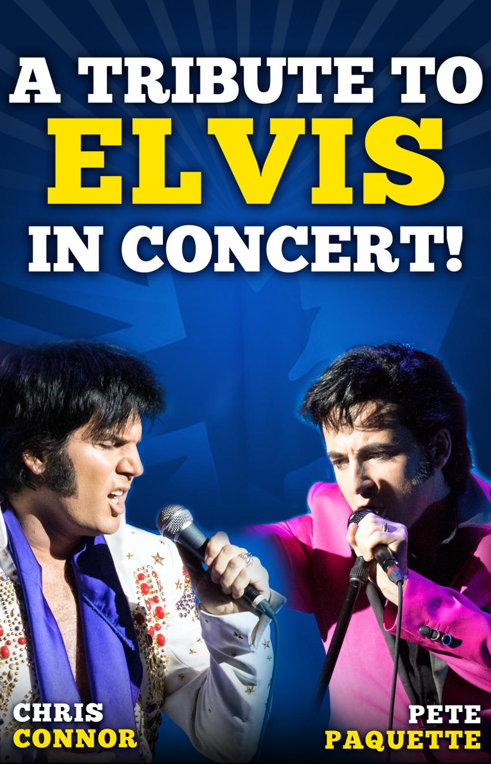 Tribute to Elvis in Concert Seats