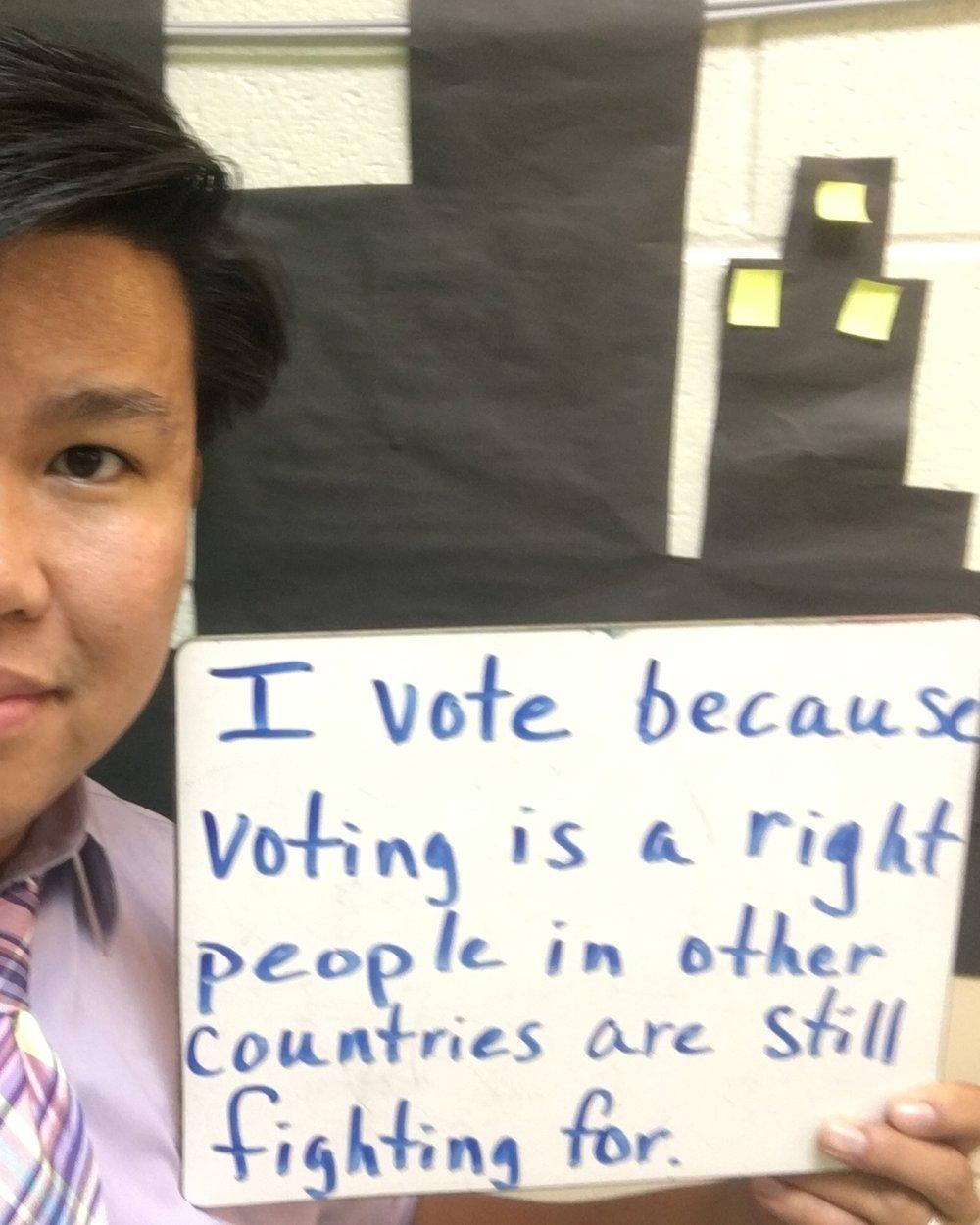 Matt Nguyen, teacher