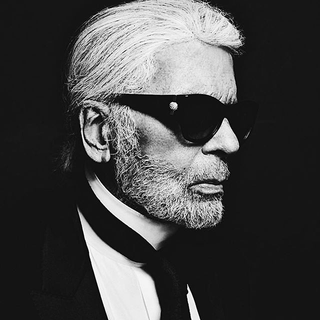 Long live @karllagerfeld 's fashion. Here's to the man in Black & White.  #rip #fashion #chanel
