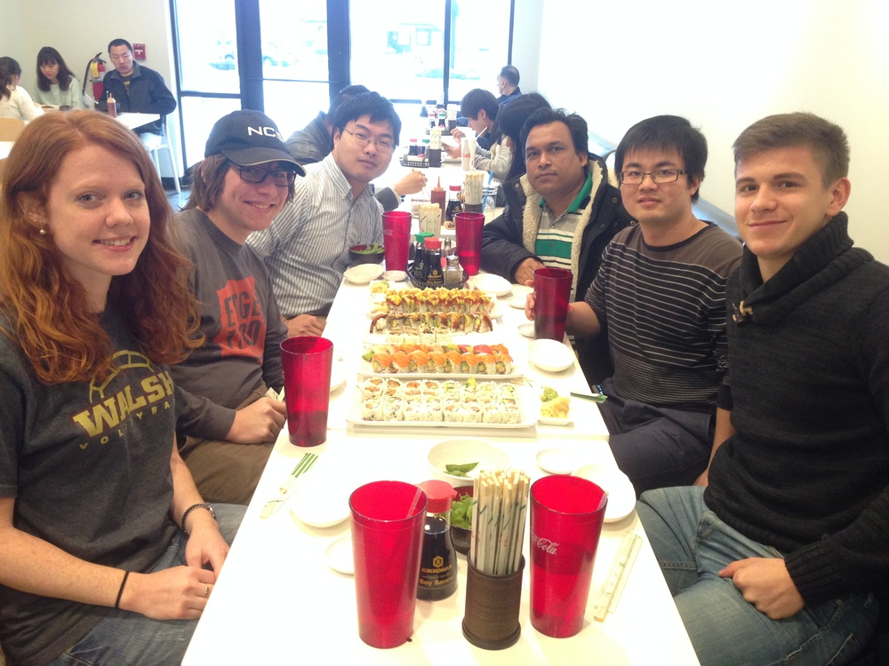 Sushi Lunch at Rice Bowl - Spring 2016