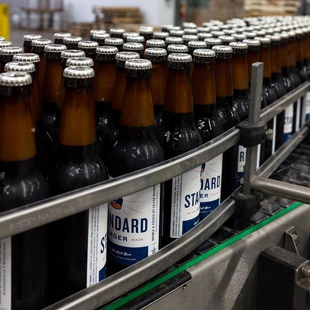 We line em up. You knock em back. Deal? #MakeItYourStandard #WeekendVibes