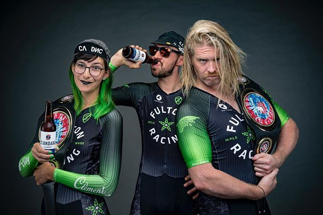 It's cross season! And you know what that means? It means these mean muggers are on the loose! @fultonbeer has a bad ass CX team that knows a thing or two about standards (and having fun). 📷: @woodmarty