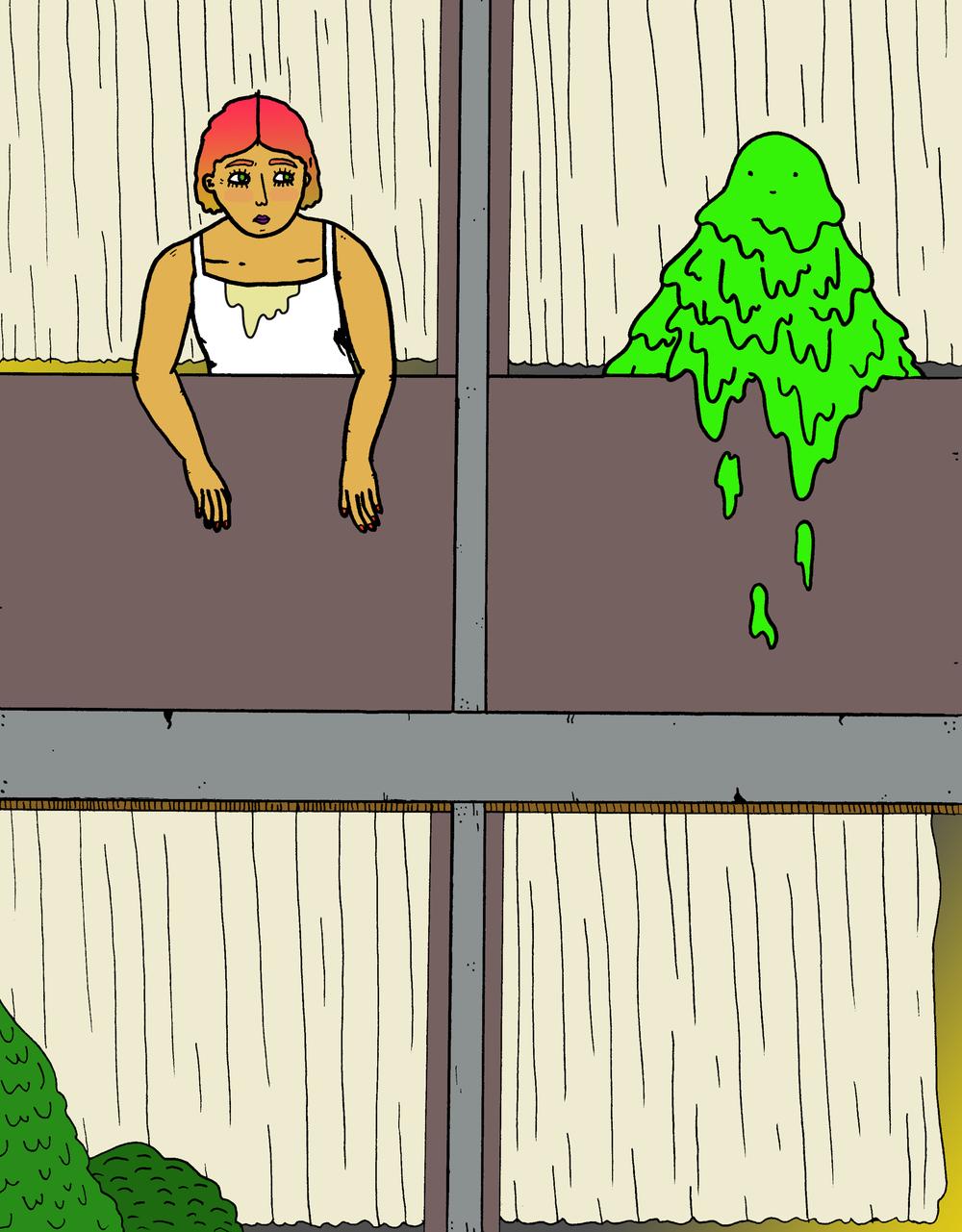 Balcony Slime