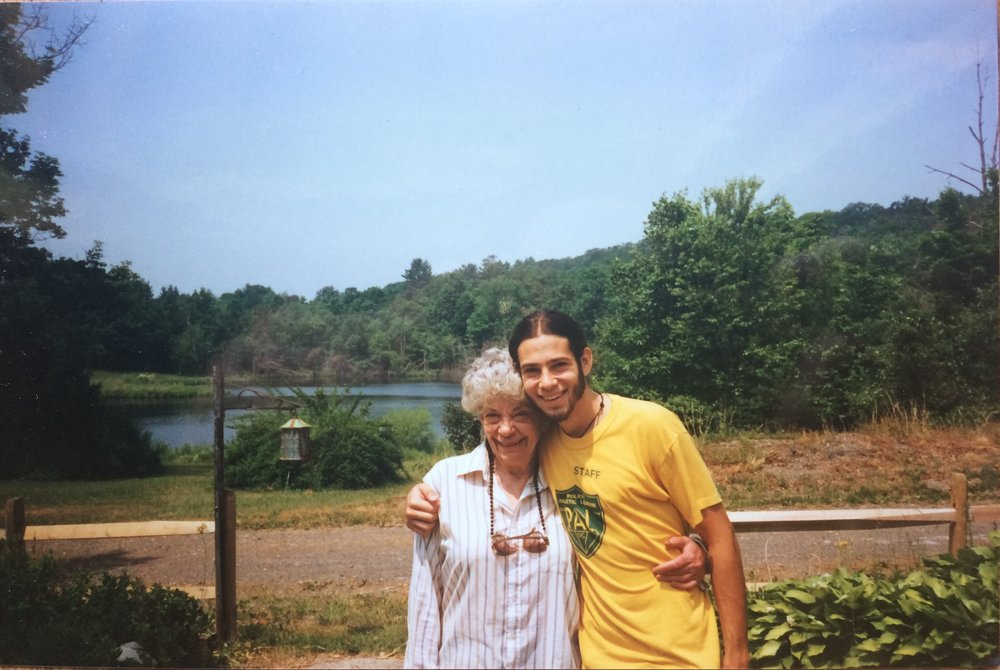 With Nanny Joy, Pine Plains NY c.1999
