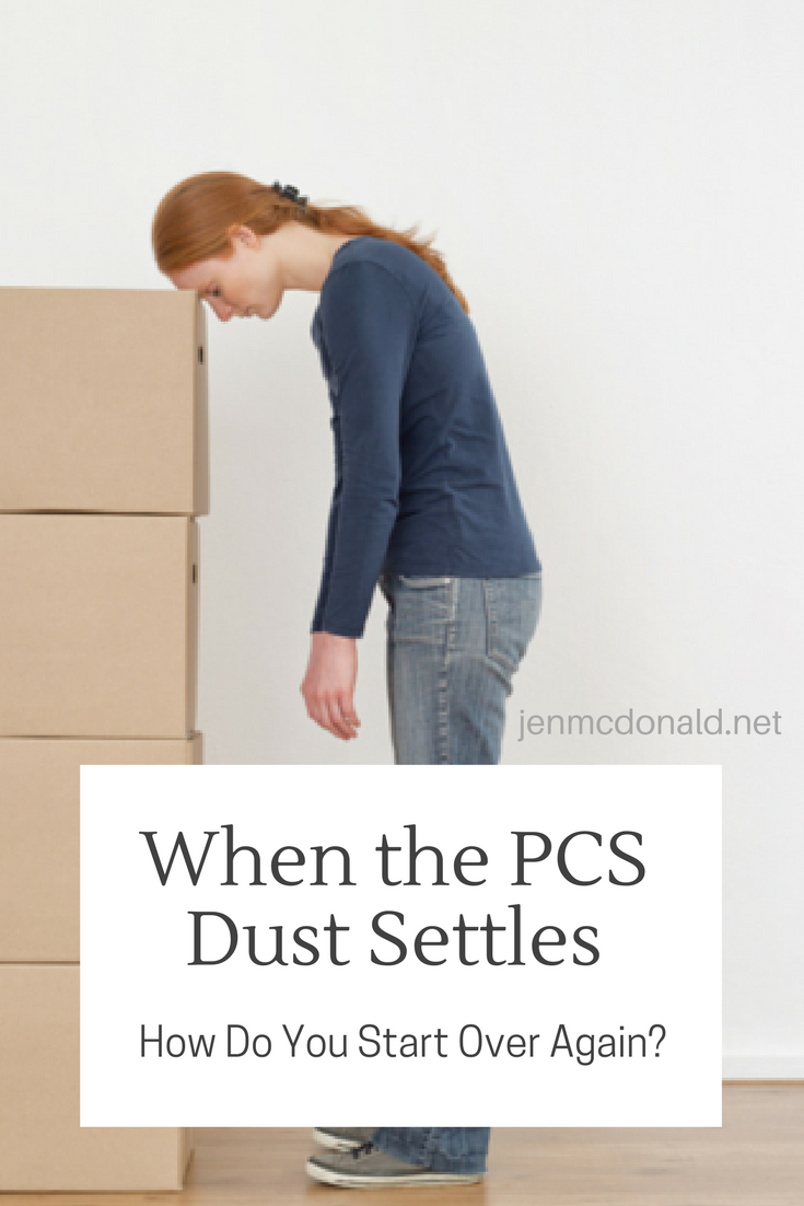 When the PCS dust settles. How to start over again?