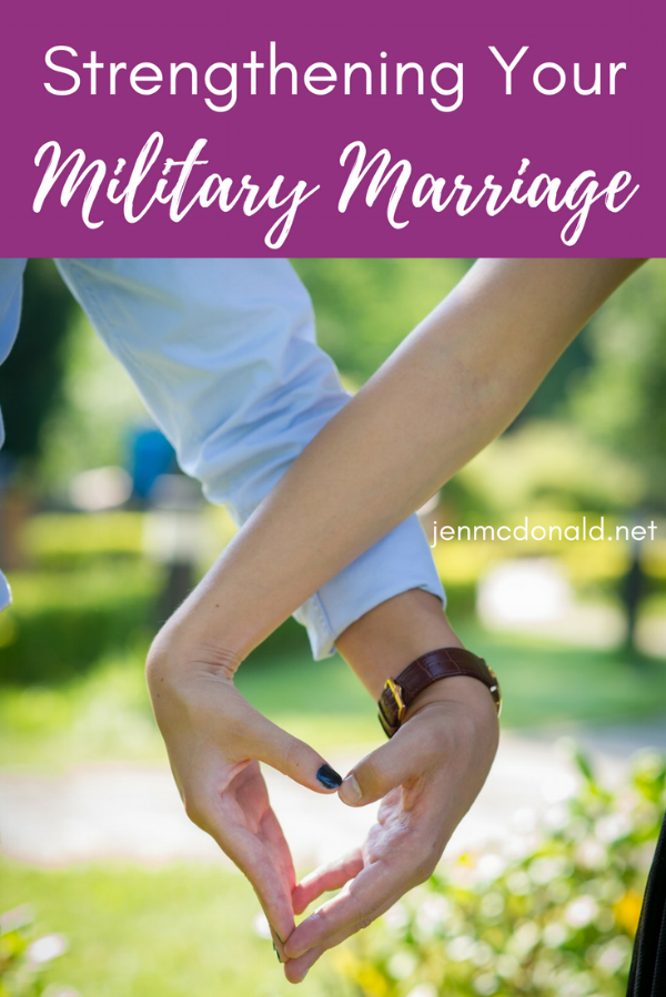 Strengthening your military marriage.