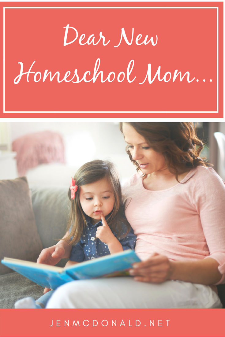 Dear New Homeschool Mom