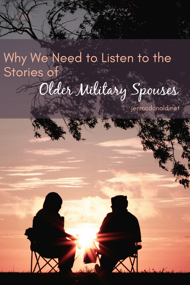Why We Need to Listen to the Stories of Older Military Spouses