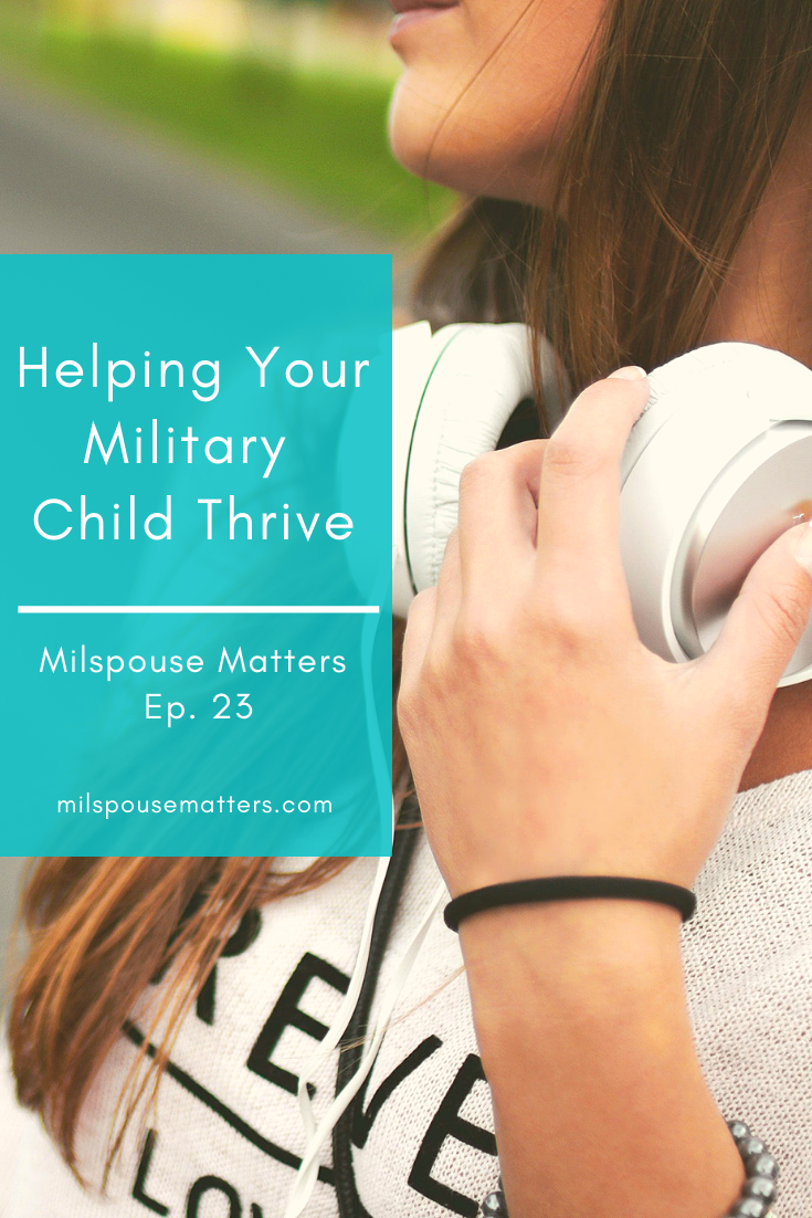 Helping Your Military Child Thrive