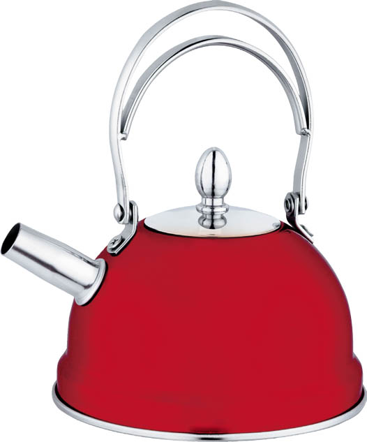 Mini Kettle with Infuser -Red    800ml