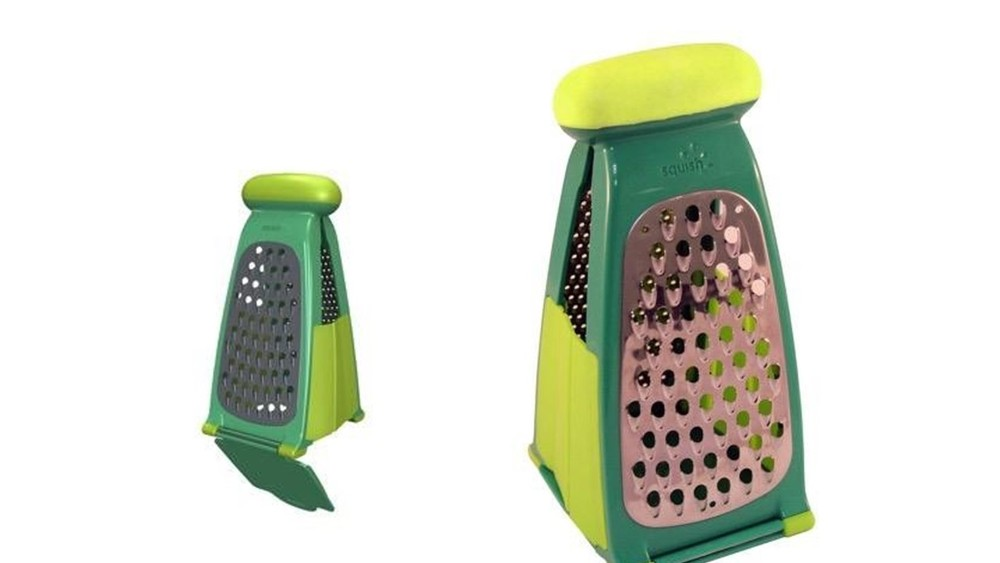 Collapsible Grater with Food Catcher