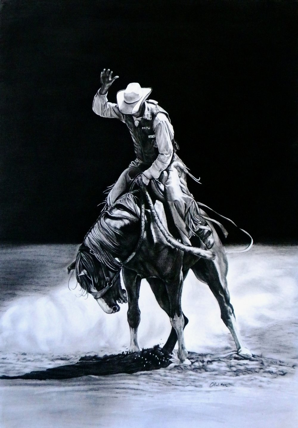 Bronc has landed (sold)