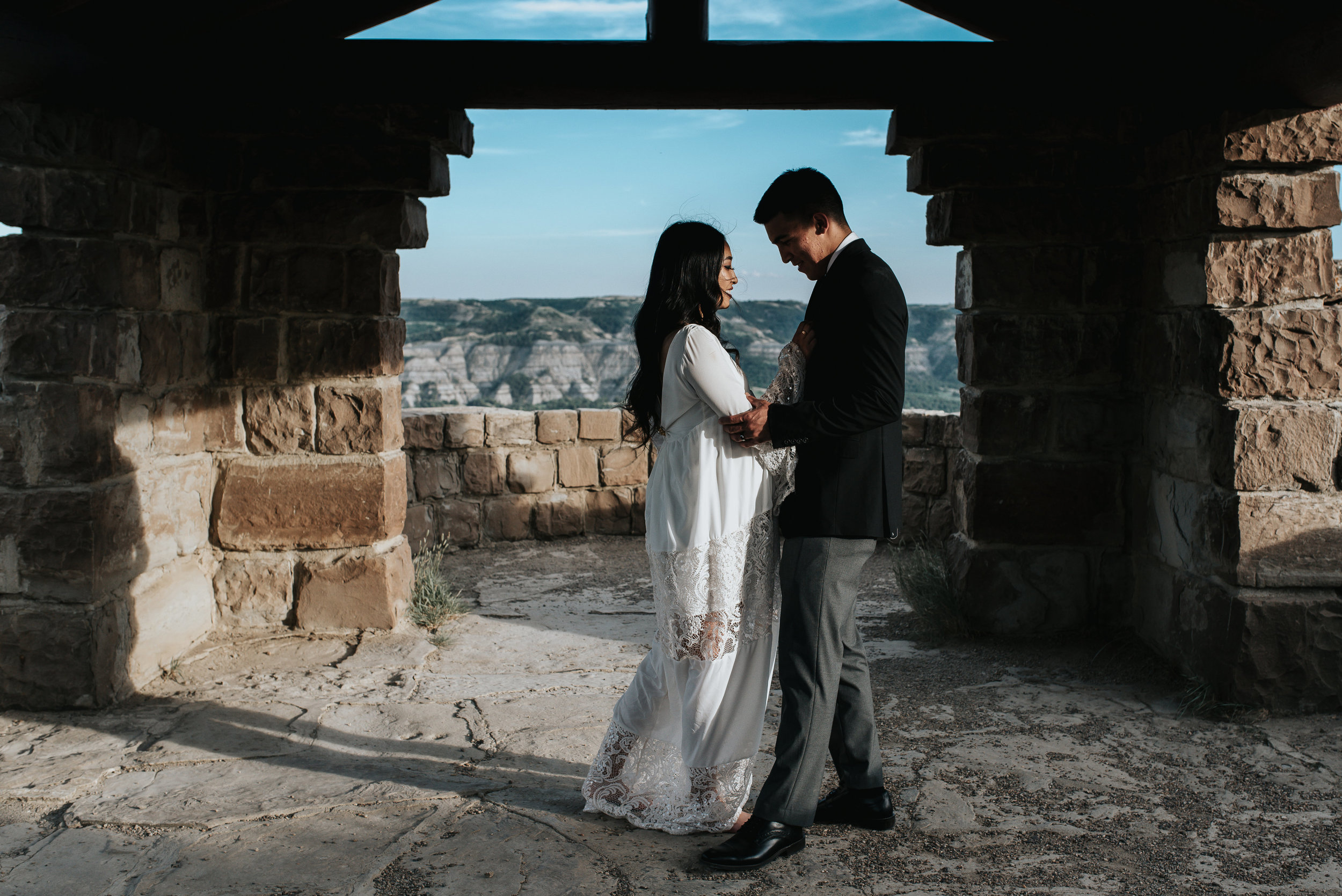 Our Wedding Elopement Story Theodore Roosevelt National Park